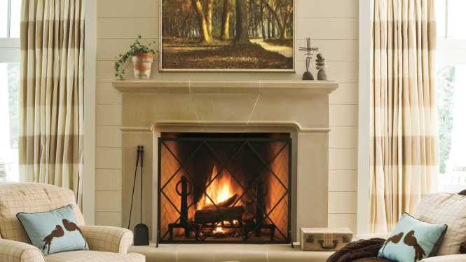 Enchanting Fireplace Surround Ideas For You Ideal Home Decorating Tv Over Modern Design Interior