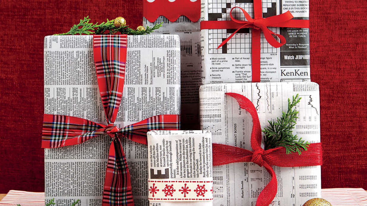 How To Recycle Wrapping Paper Southern Living