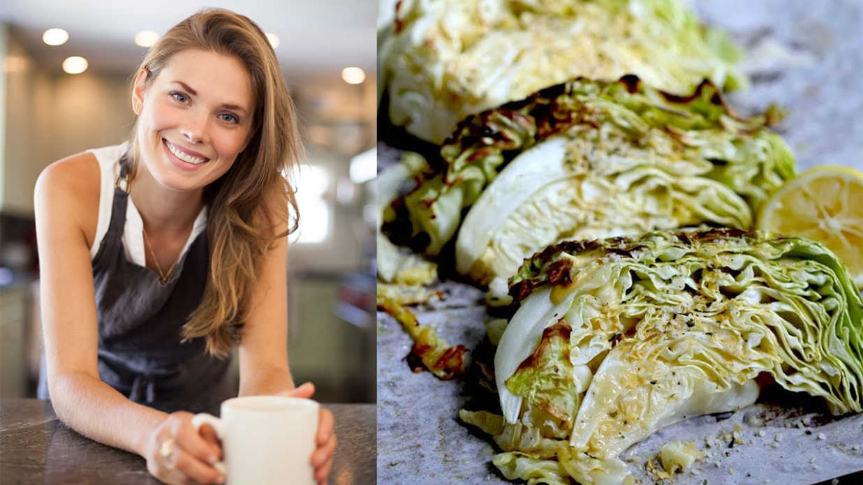 Laura Leas Caesar Roasted Cabbage Recipe Southern Living