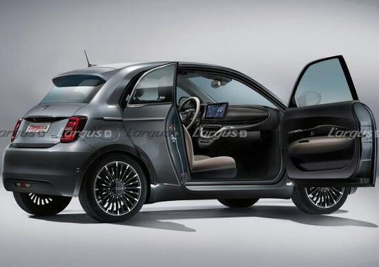 Incredible Fiat 500 2020 novelty: electric only but also with 4 doors [render]