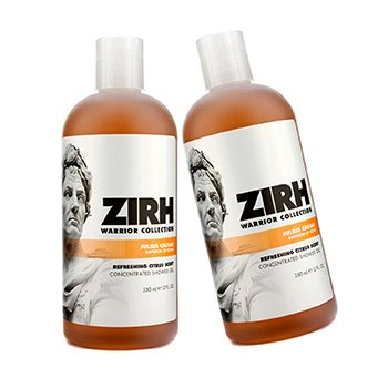 Zirh International Warrior Collection Shower Gel Duo Pack - Julius Caesar  2x350ml/12oz