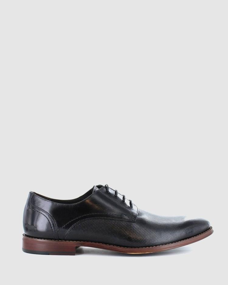 Wild Rhino Staten Dress Shoes Black