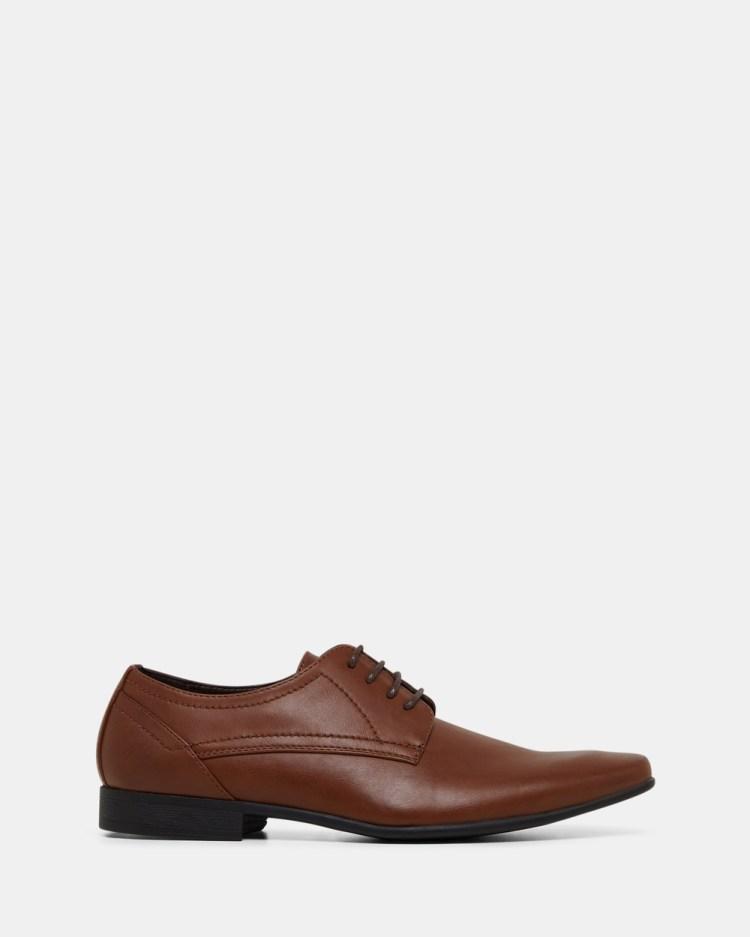 JM Owen Dress Shoes Tan