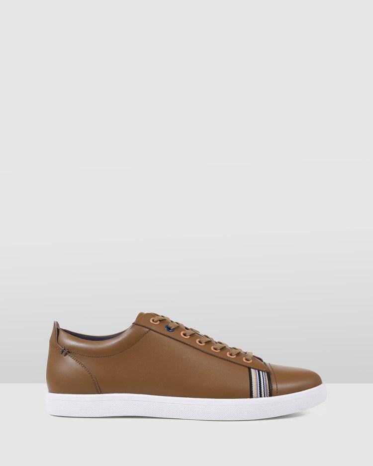 Julius Marlow Baker Lifestyle Sneakers Tan