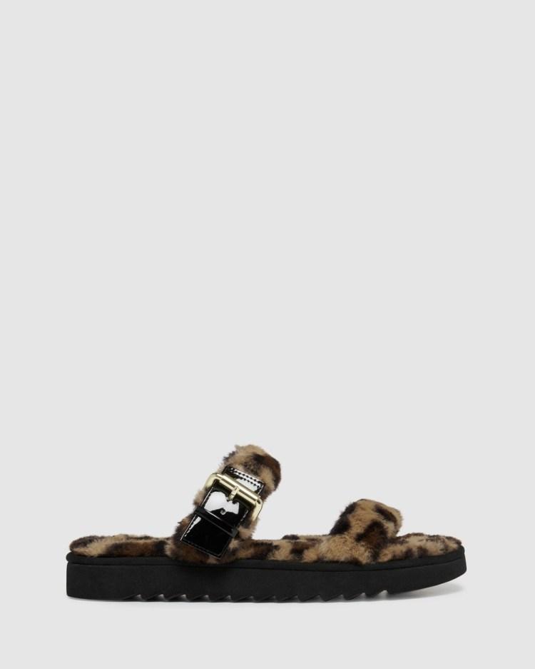 Nine West Funkie Sandals LEOPARD