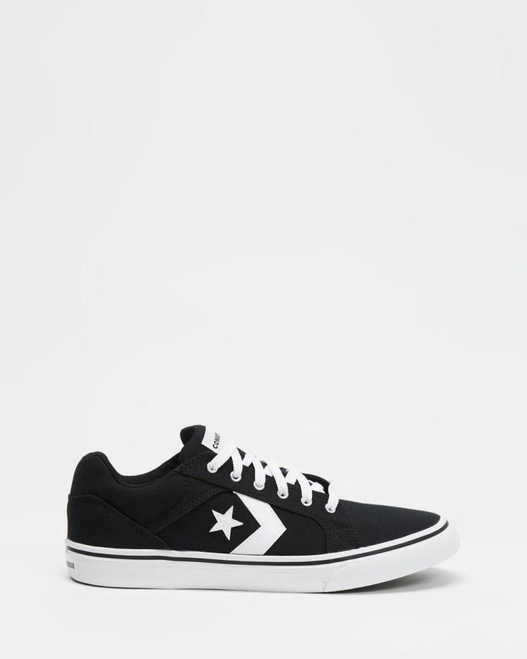 Converse El Distrito 2.0 Canvas Mens Sneakers Black & White