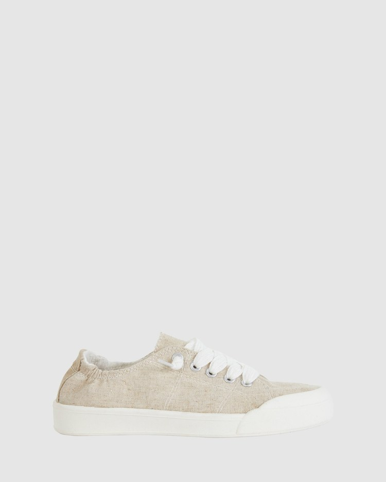 Sandler Switch Slip-On Sneakers NATURAL