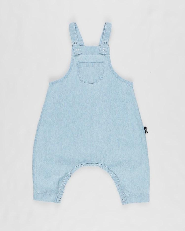 Bonds Baby Denim Overalls Babies Sleeveless Summer Blue