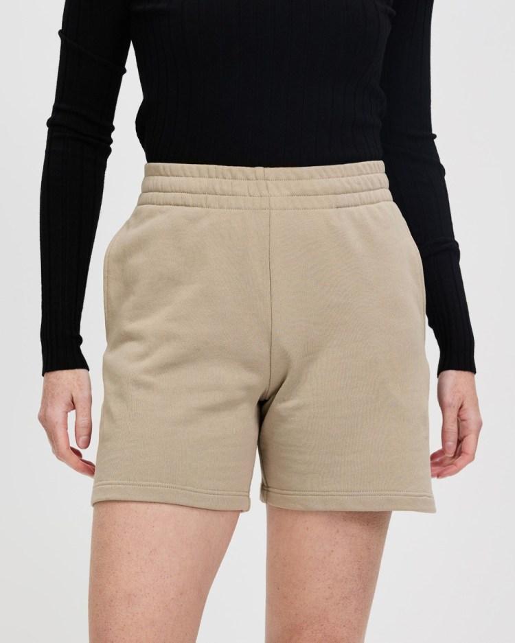 Bonds Long Shorts High-Waisted Hazy Skies