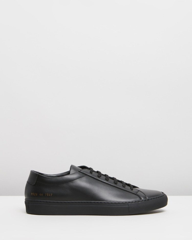 Common Projects Achilles Low Mens Sneakers Black