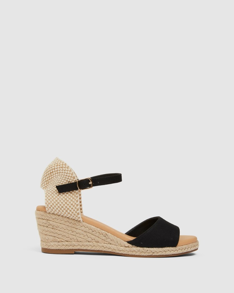 Easy Steps Scout Wedges BLACK
