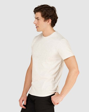 Superdry - Emboss Pastel Line Tee - T-Shirts (Ice Marle) Emboss Pastel Line Tee