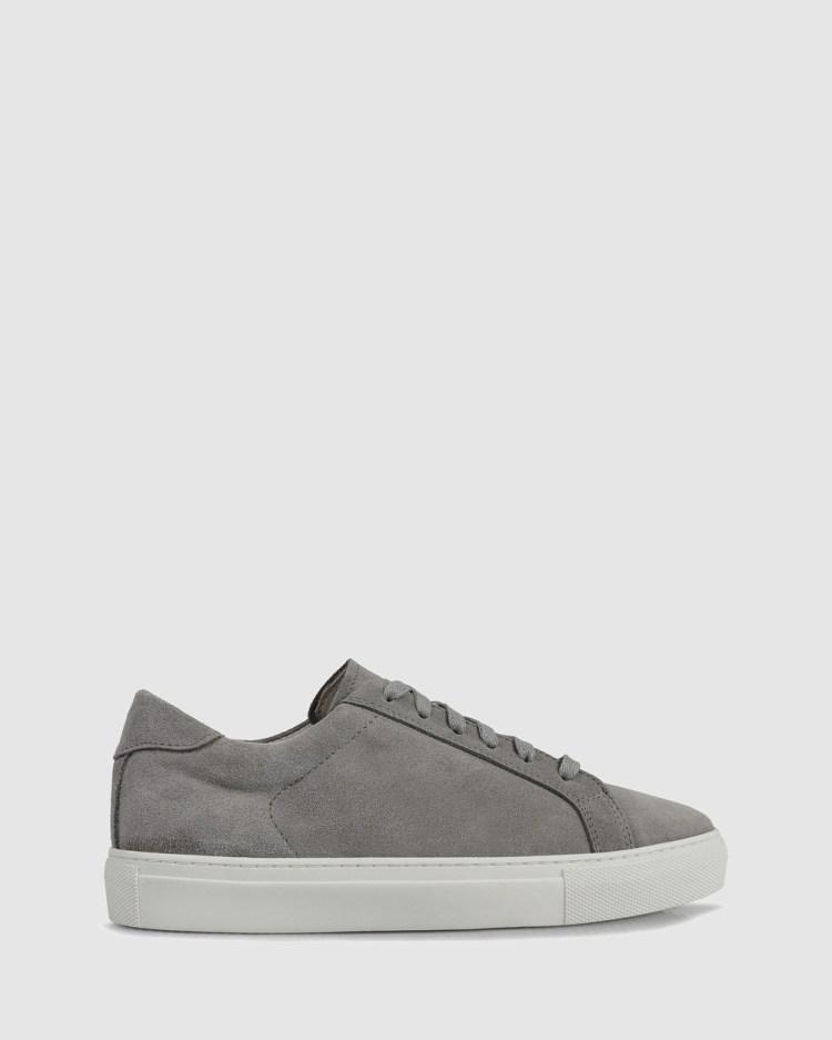 S by Sempre Di Vera Low Top sneakers Lifestyle Sneakers GREY-100