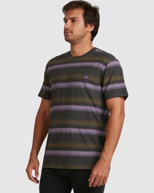 Billabong Die Cut Crew Short Sleeve T-Shirts RAVEN