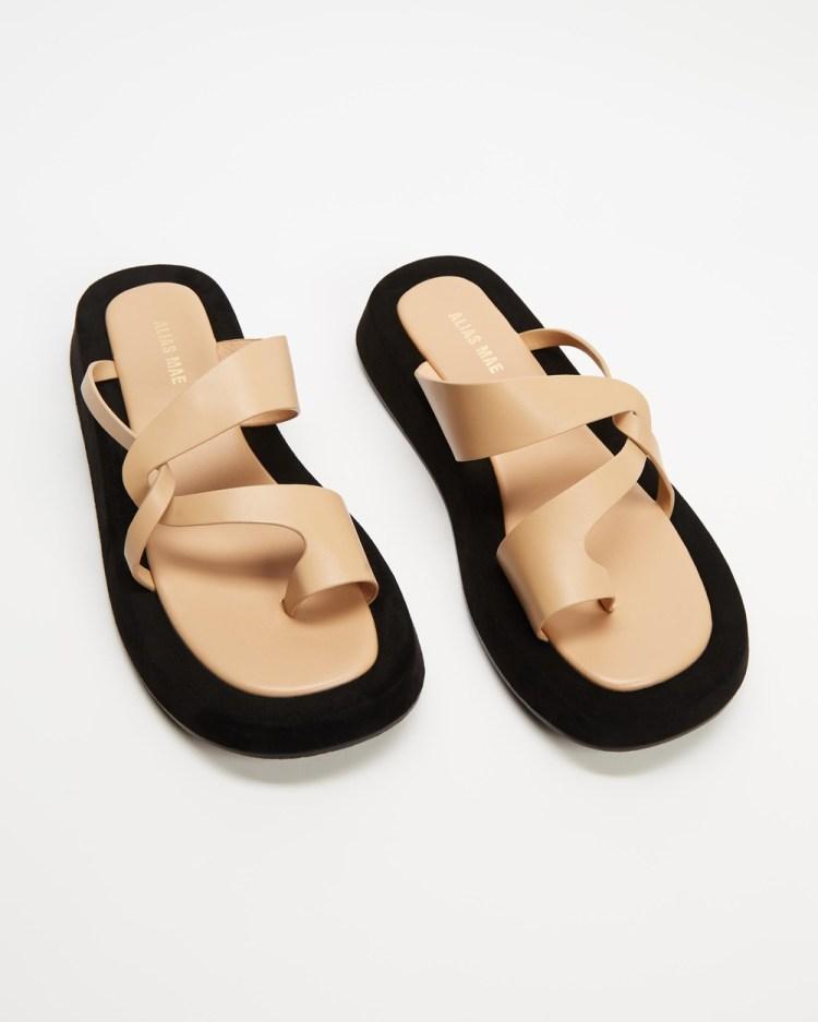 Alias Mae Polo Sandals Natural Leather