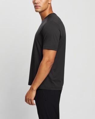 Arc'teryx Remige SS T Shirt Short Sleeve T-Shirts Black Heather T-Shirt