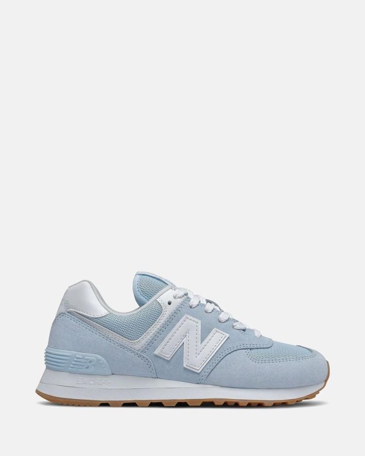 New Balance 574 Standard Fit Women's Low Top Sneakers Uvlglo