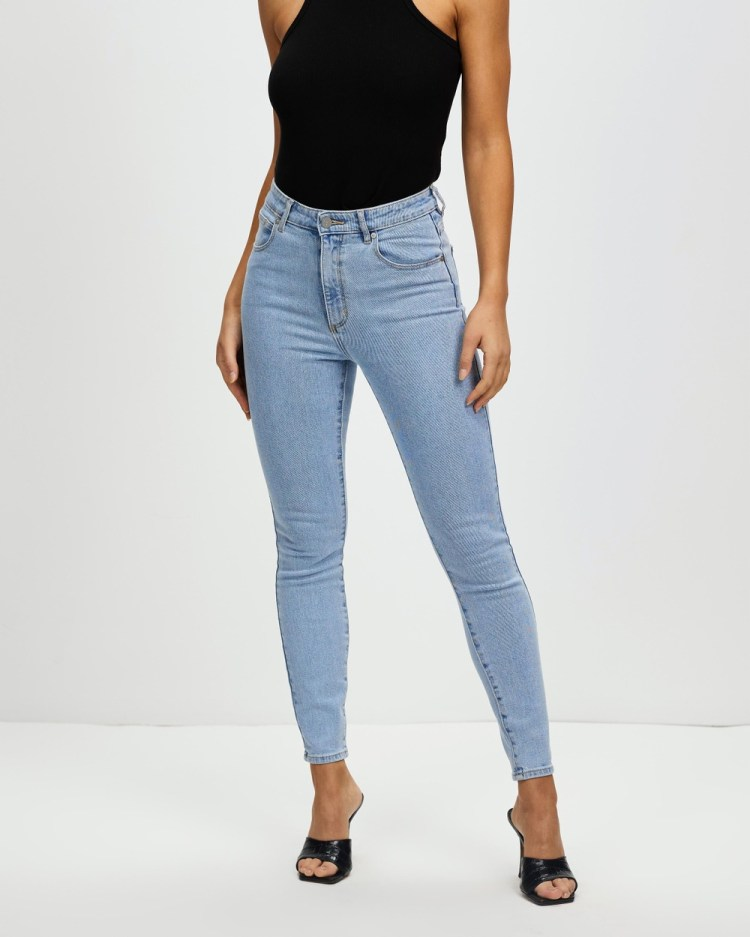 Abrand A High Skinny Ankle Basher Jeans High-Waisted Walk Away