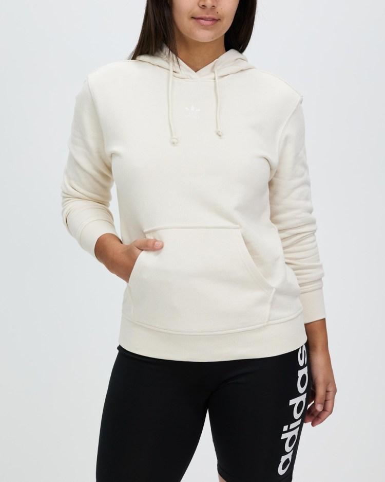 adidas Originals Adicolor Essentials Hoodie Hoodies Wonder White