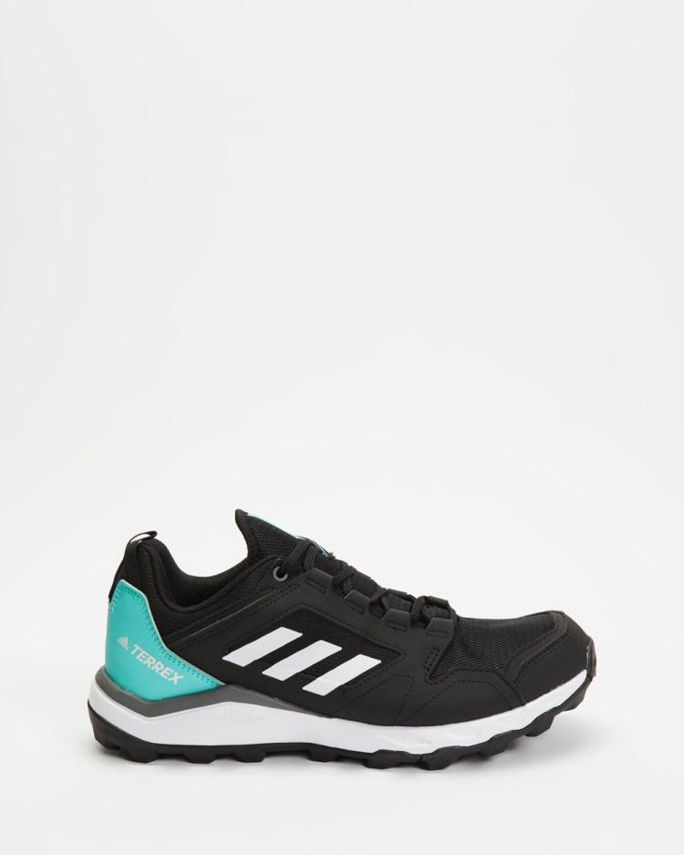 adidas Performance Terrex Agravic TR Trail Running Shoes Womens Hiking & Black Mint