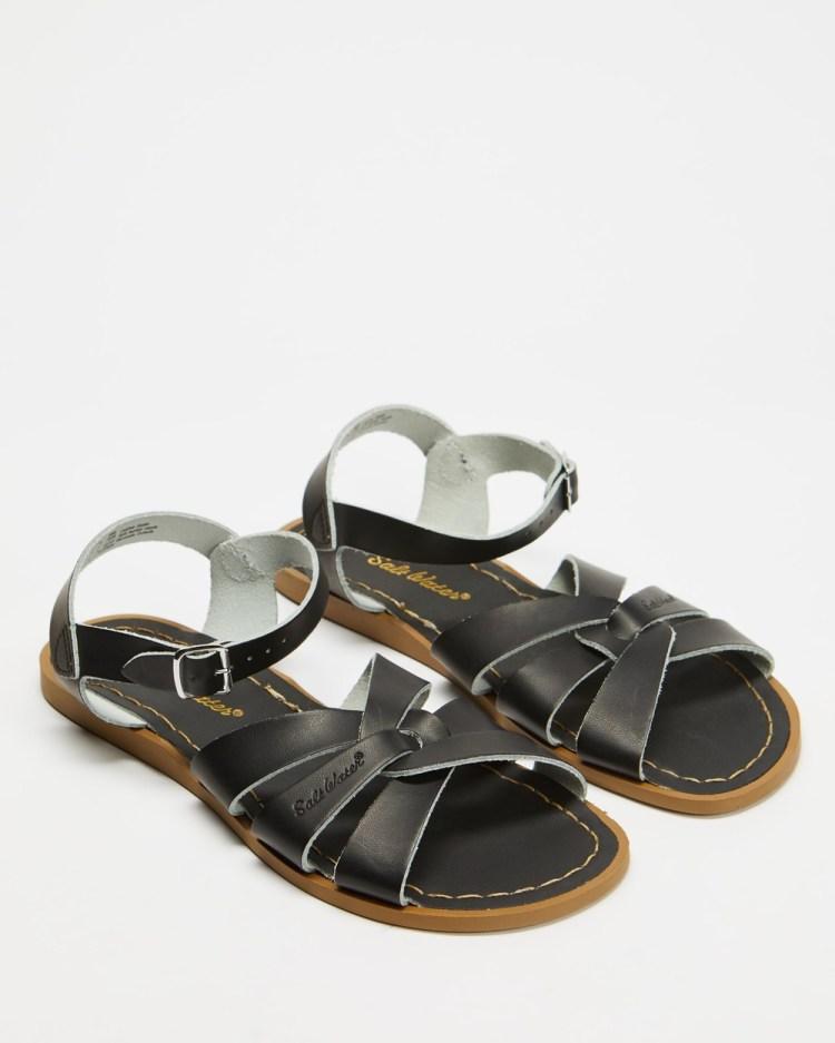 Saltwater Sandals Womens Original Black