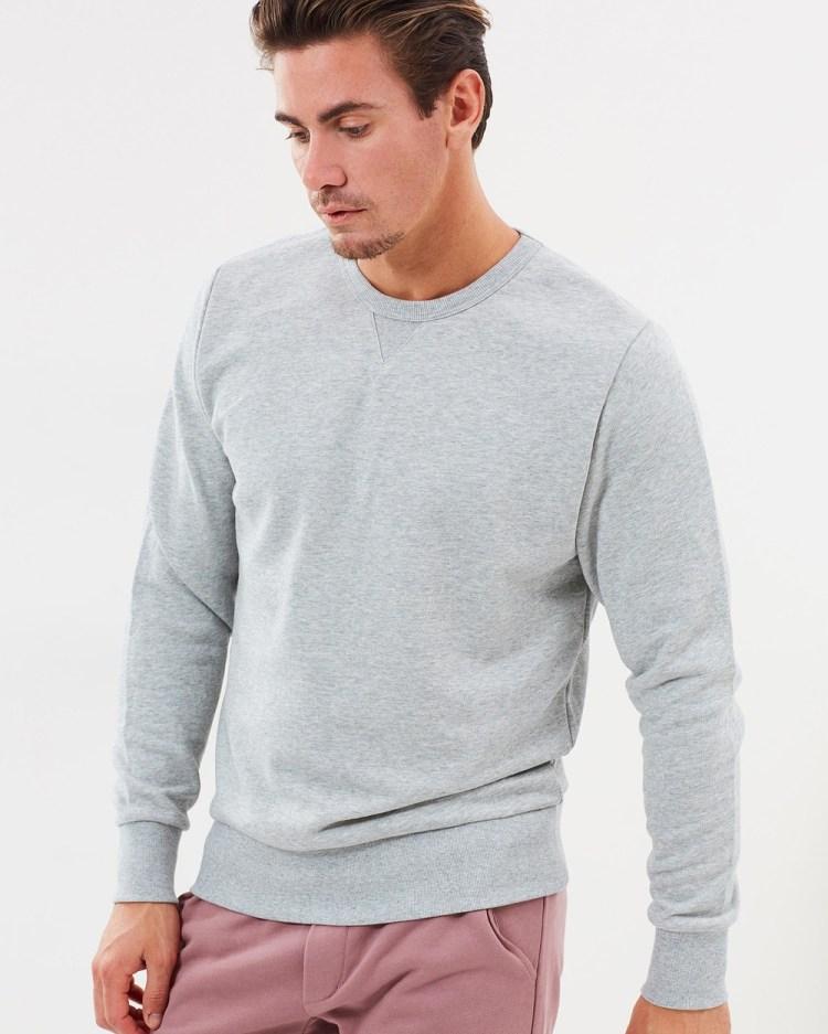 Bonds ORIGINALS PULLOVER Sweats Grey Marle