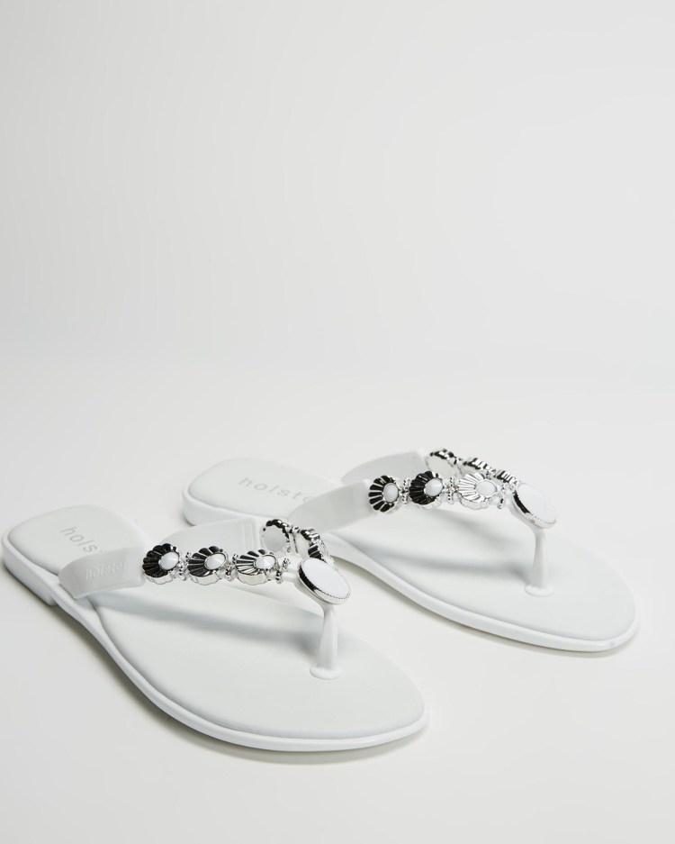 Holster Seascape Thongs White