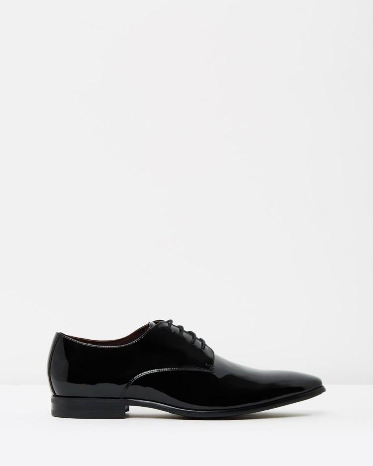 Julius Marlow Jet Dress Shoes Black Patent