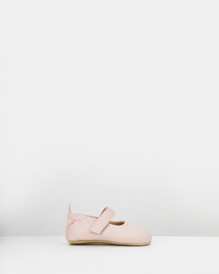 Old Soles Gabrielle Mary Jane Flats Powder Pink