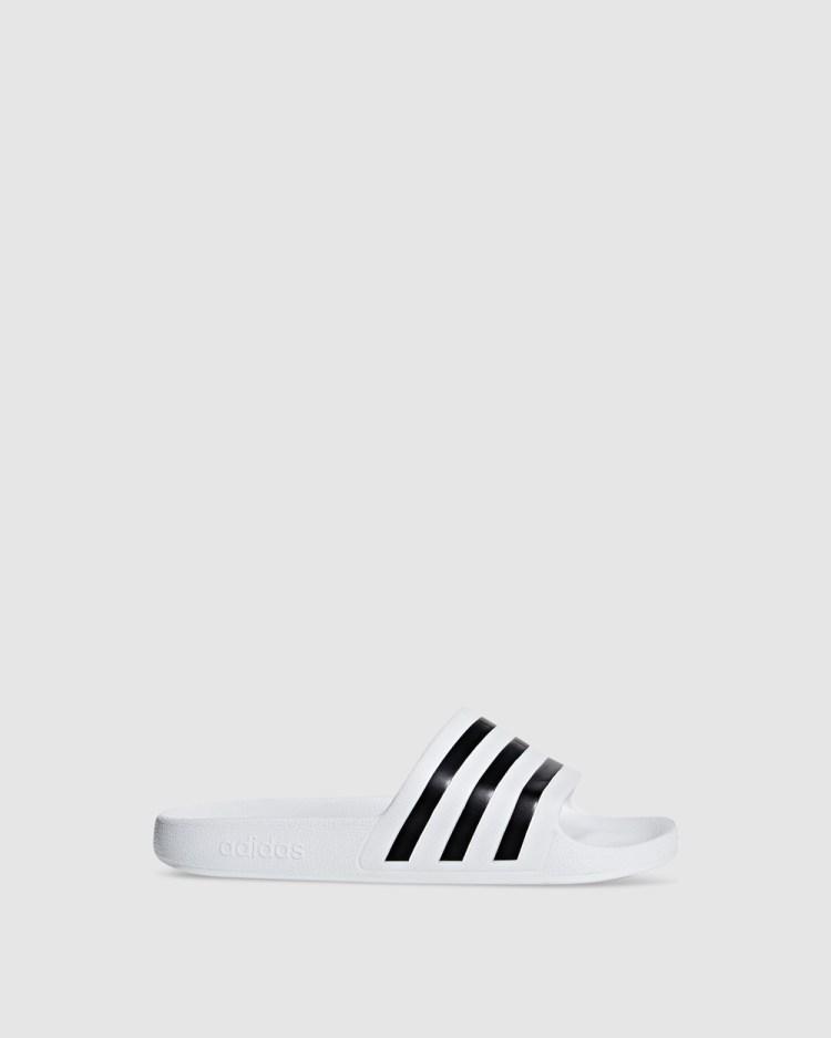 adidas Performance Adilette Aqua Slides Sandals White