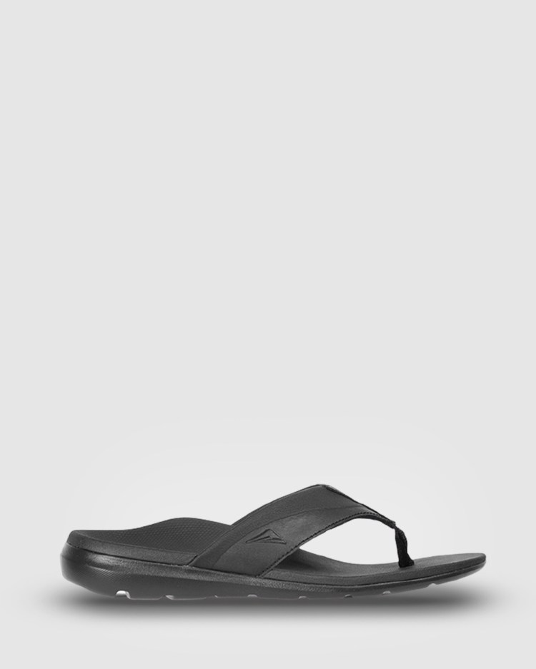 Ascent Groove All thongs Black/Black