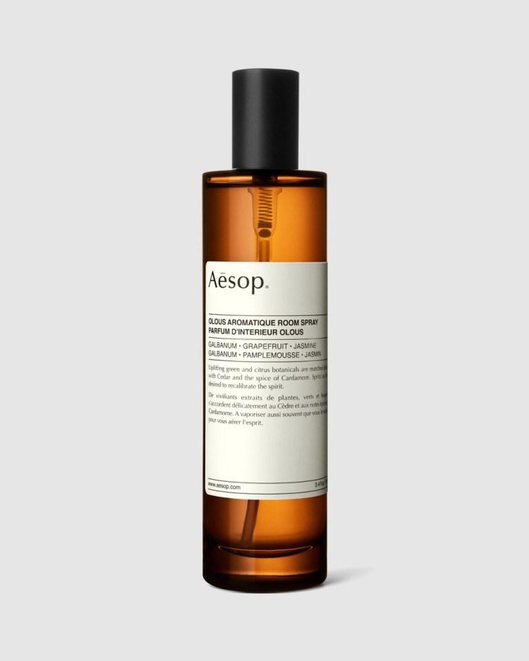 Aesop Olous Aromatique Room Spray 100mL Home Fragrance N/A