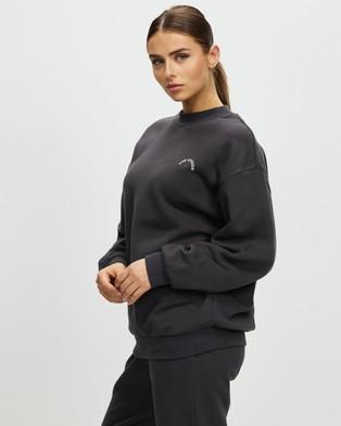The Upside Aurelie Sweatshirt Sweats Wash Black