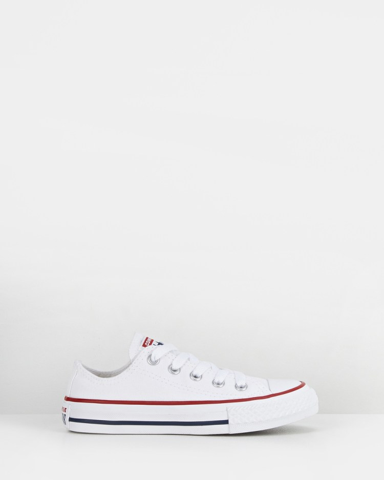 Converse Chuck Taylor All Star Ox Youth Lifestyle Shoes White