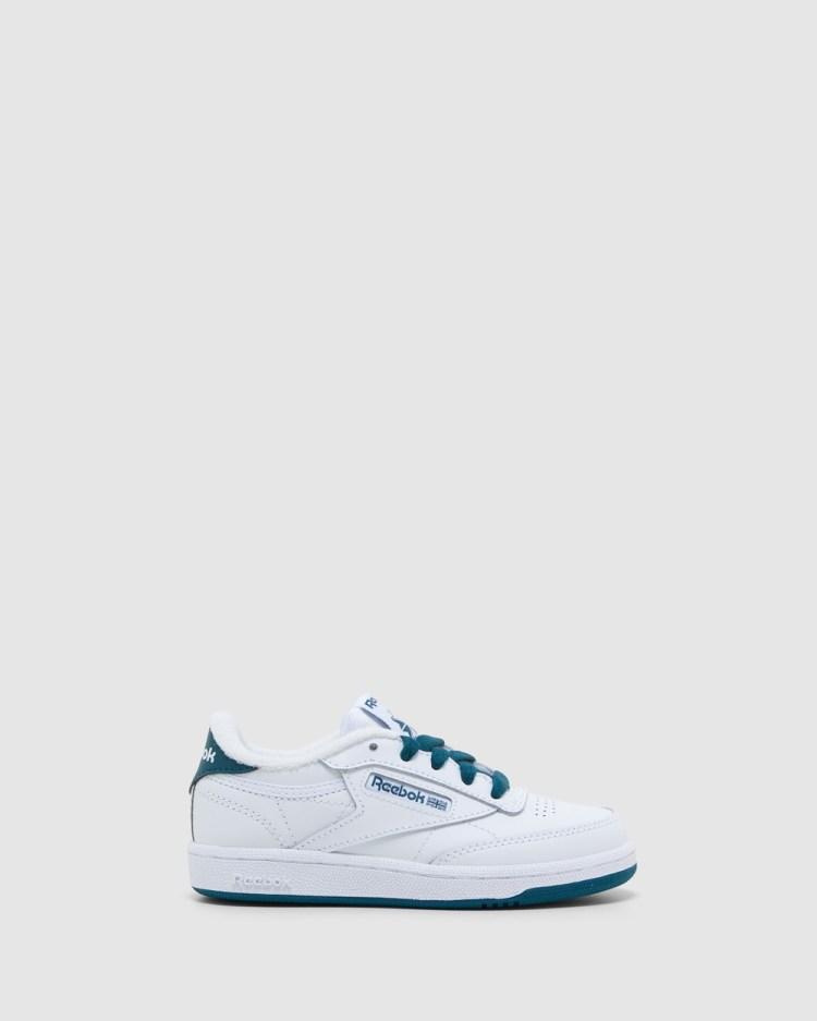 Reebok Club C Laces Pre School Sneakers White/Navy Pre-School