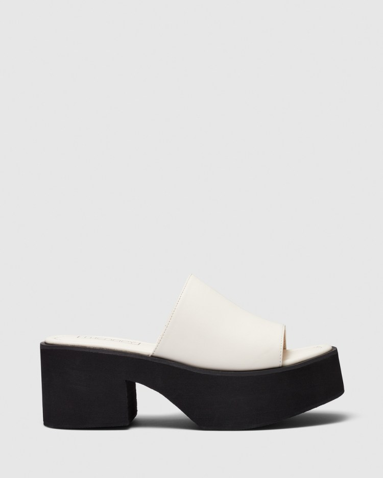 Therapy Tyra Wedges Cream