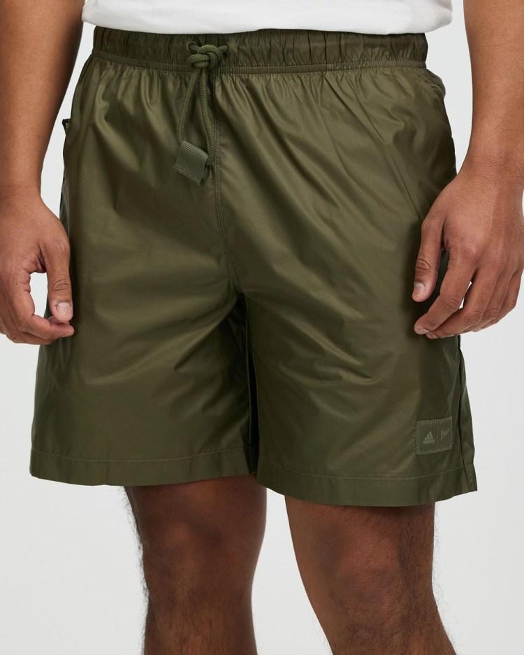 adidas Performance Parley Shorts Medium Dark Khaki