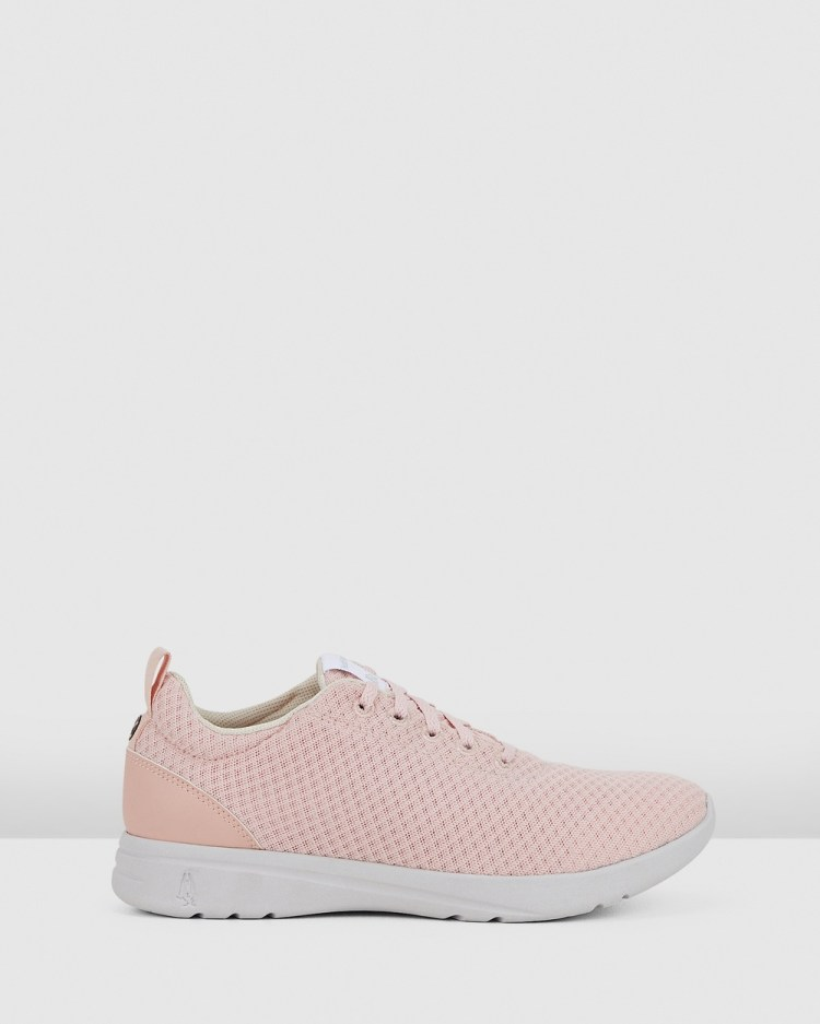Hush Puppies The Good Laceup W Sneakers Pale Blush Textile