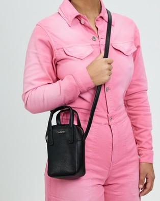 Calvin Klein - Camera Bag with Top Handle - Travel and Luggage (Ck Black) Camera Bag with Top Handle
