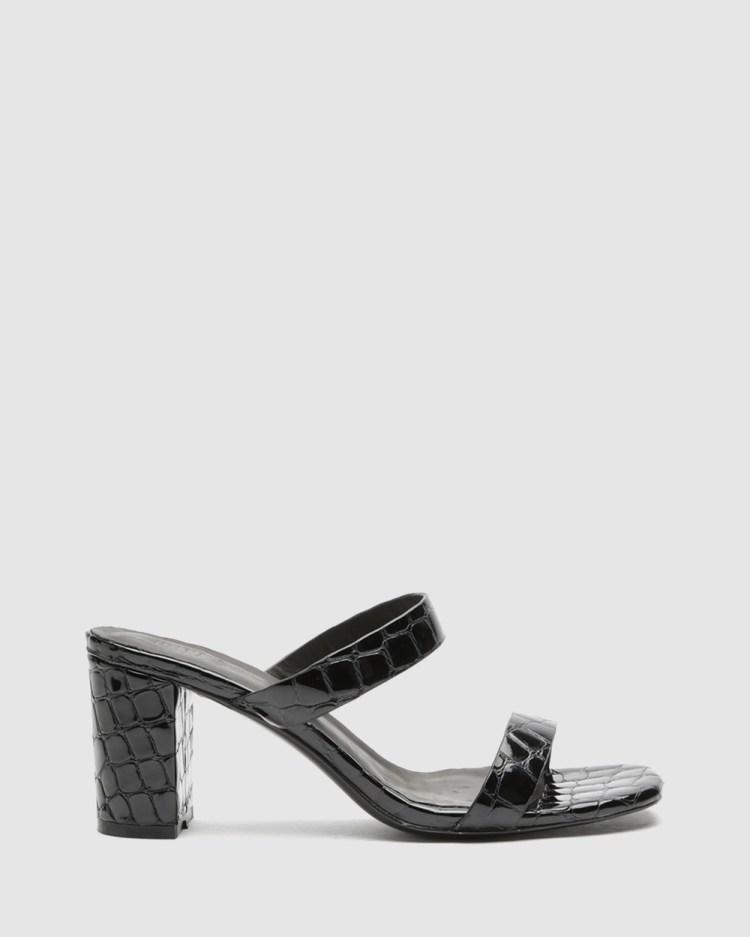 LMS The Rachel Mid-low heels Black