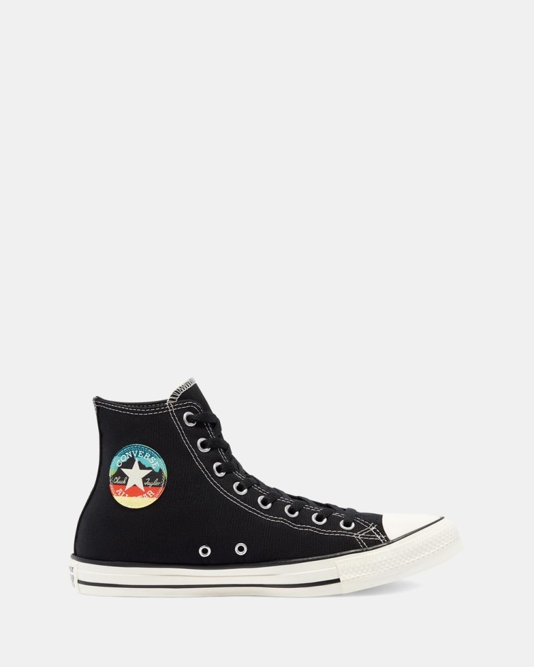 Converse Chuck Taylor All Star National Parks Patch Unisex High Top Sneakers Black & Egret