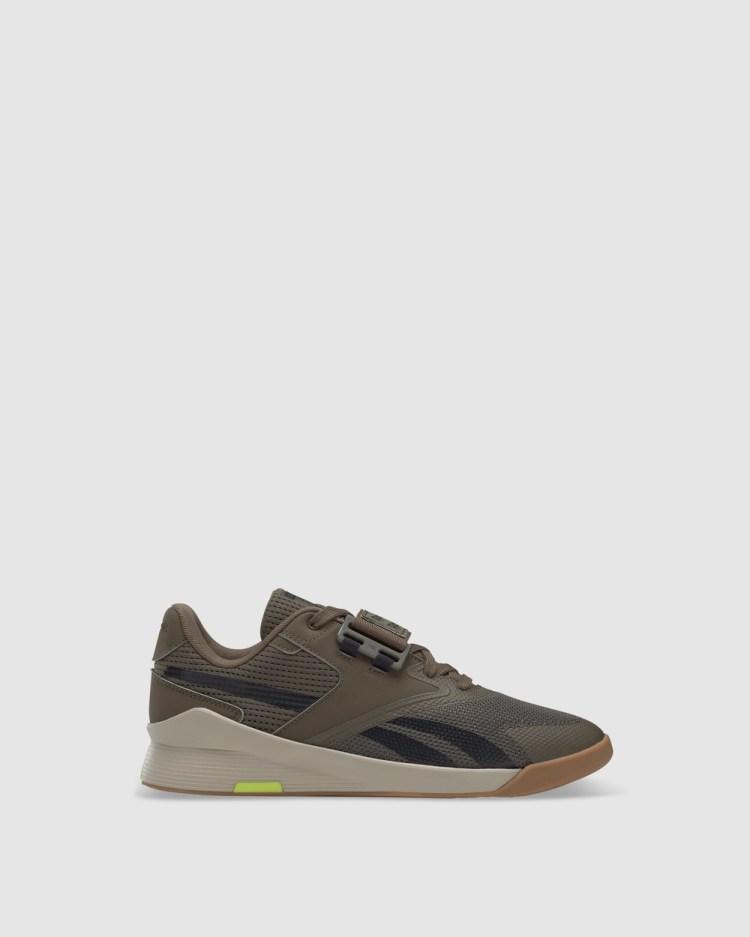 Reebok Performance Lifter PR II Shoes Green