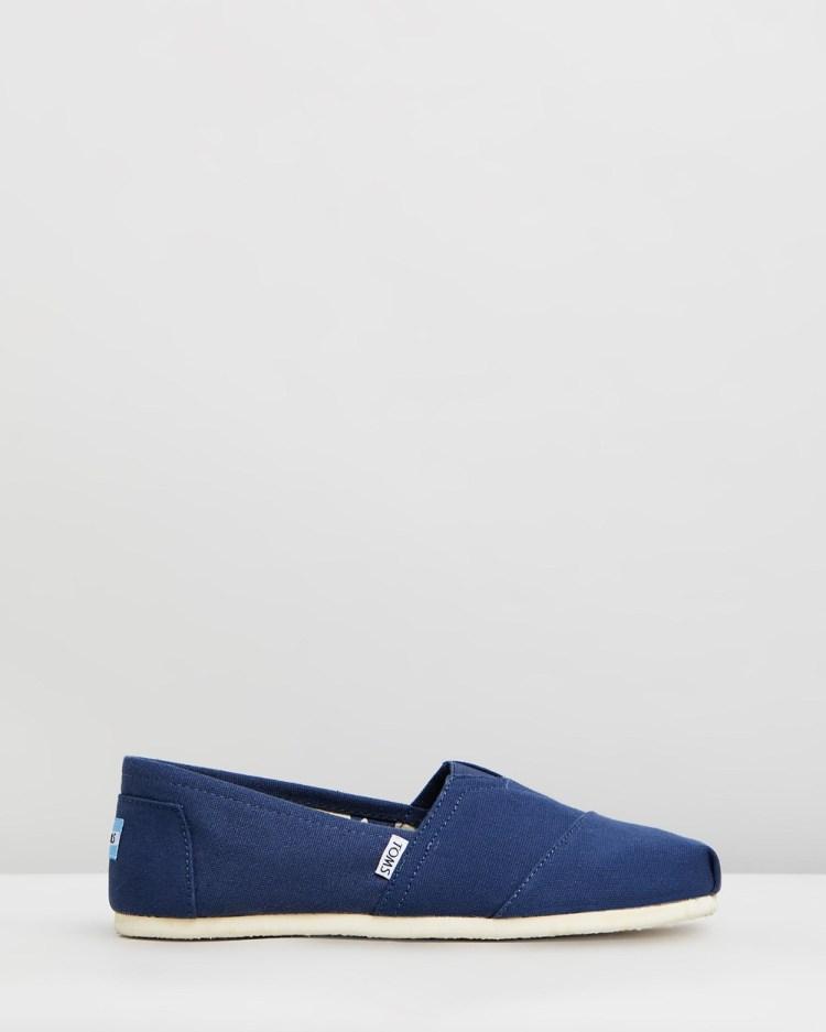 TOMS Canvas Classics Men's Casual Shoes Navy