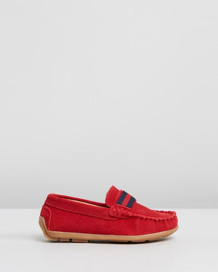 Little Fox Shoes Kensington Dress Red