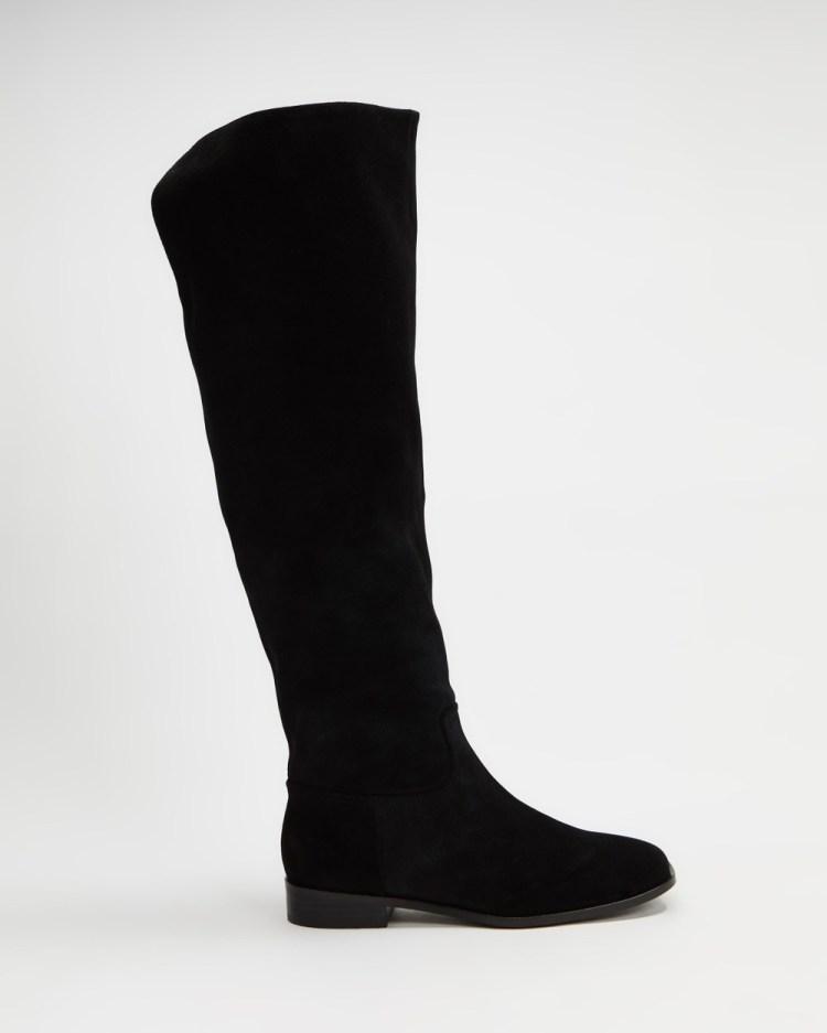 Sol Sana Jaxon Boots Black Suede