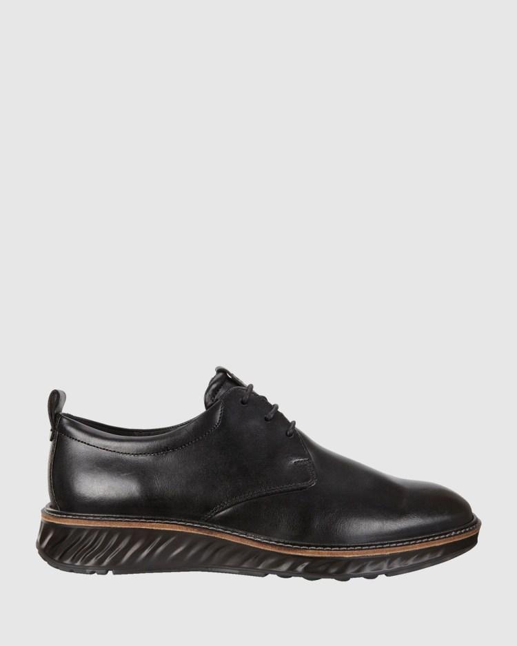 ECCO ST.1 Hybrid Mens Dress Shoes Black