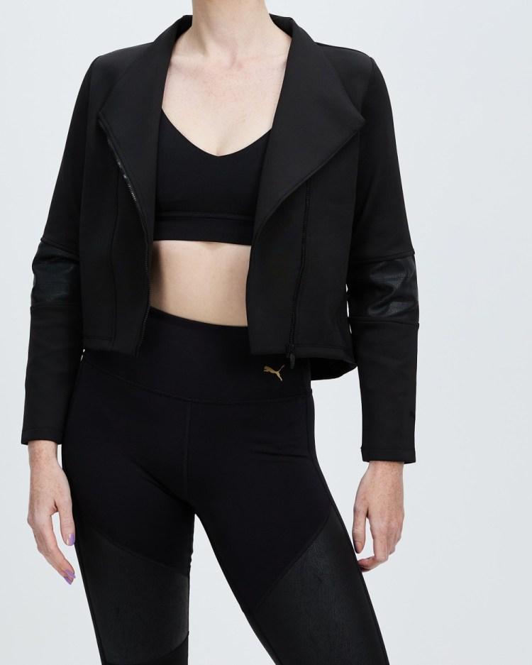 Puma Moto Jacket Sweats Puma Black