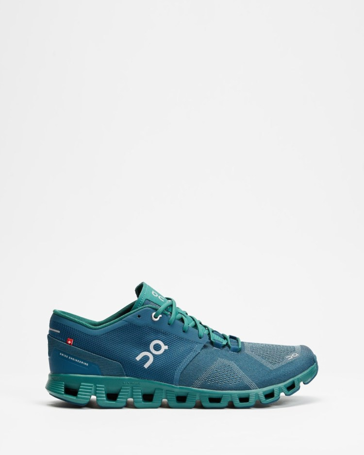 On Running Cloud X Men's Performance Shoes Storm & Tide