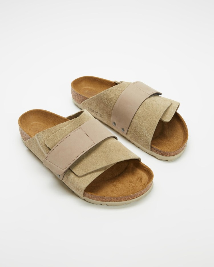 Birkenstock Kyoto Unisex Casual Shoes Taupe