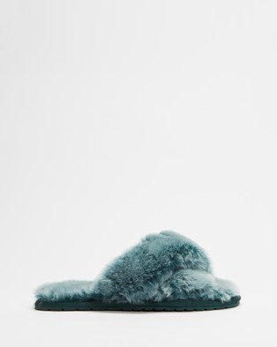 Emu Australia Mayberry Frost Slippers & Accessories Deep Teal